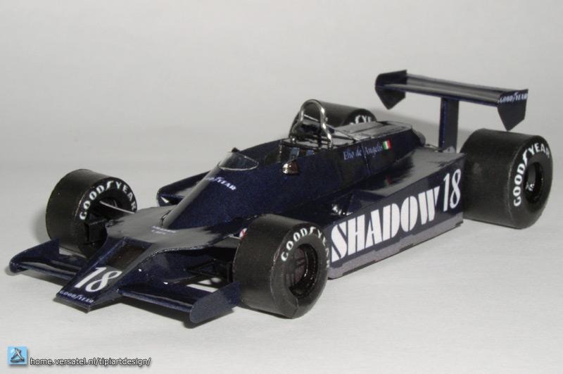 F1 Paper Models 1979 Shadow Dn9b 18 Free Papercraft